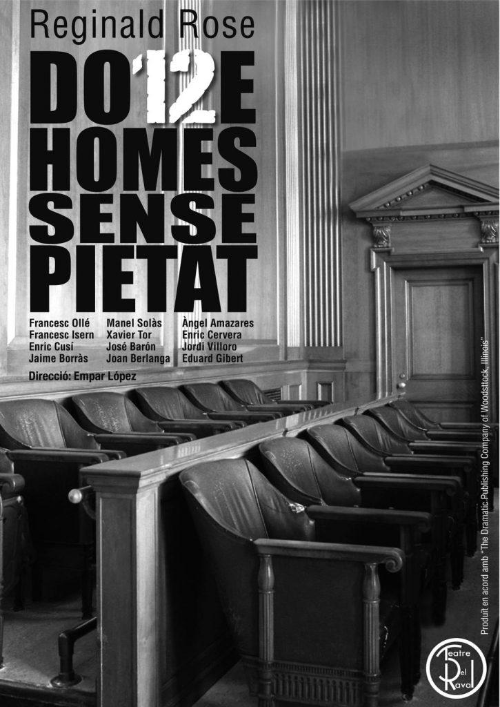Cartell 12 Homes sense pietat